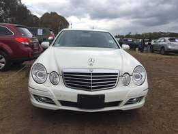 Mercedes Benz, E250, Avantgarde, KCK, 2009, 2500cc, Leather Interior