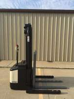 Crown WS 2300 LB Electric Forklift Walkie Stacker Cushion 2 Stage