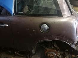Mini Cooper r56 Mayfair doors