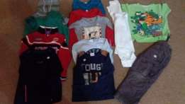 4-5 and 5 - 6 years clothes 13 items for boys R200