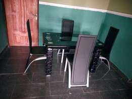 RF- Durable Dining Table With 4 Chairs