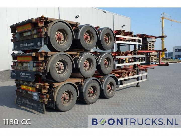 Hfr *stack Of 3 * 20-40-45ft *disc Brakes* - 2004