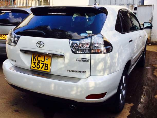 toyota harrier 2010 just arrived 2,650,000/= ONLY KCJ LOADED Highridge - image 3