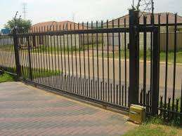 Gates and steelwork.