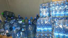 Purified water and mineral water