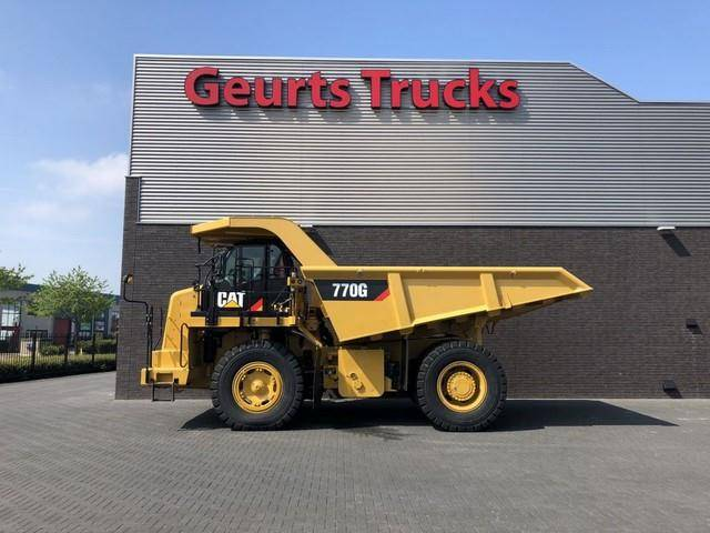 Caterpillar 770 G dump truck 770 G DUMP TRUCK ONLY 3890 HOURS