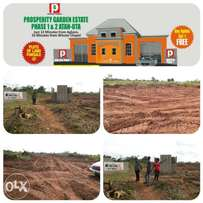 Serviced plots of land at Attan Ota