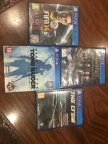 PRICE DROP - Ps 4 games for sale