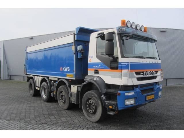Iveco Trakker Ad410t41 8x4 Manual Gear Euro 5 - 2008