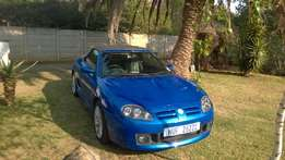 Rover MG Convertible Metallic Blue
