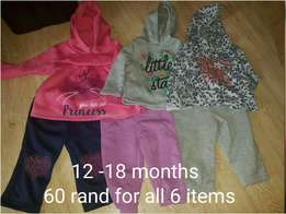 Baby girl clothing. See pic for price