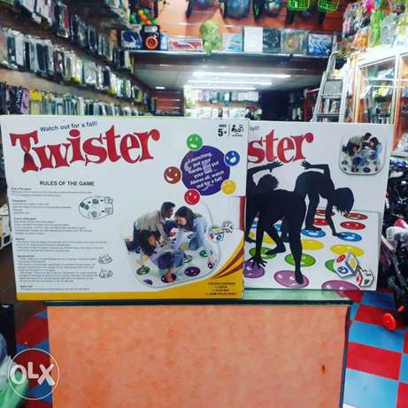 Twister toys games for sale each 3.500