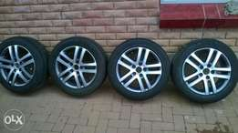 golf 6 16 inch mags and tyres
