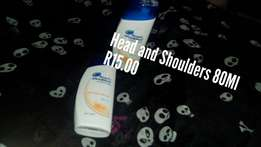 Head and shoulders 80Ml