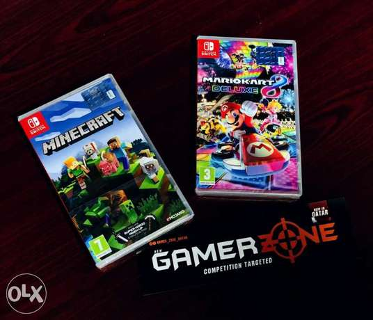 Nintendo switch games available in gamerzone