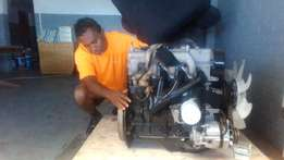 Engine H100 Fully Reconditioned (Hyundai H100)