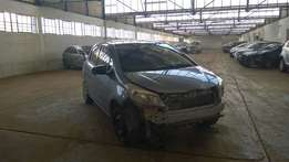 damaged yaris for sale