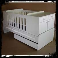 5-in-1 Cot - Brand New