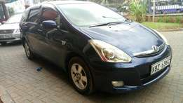 Toyota Wish KBZ registration blue in Colour 1800cc clean fully loaded
