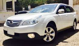 Subaru Outback new shape 2010 model loaded eye sight at 2,399,999/=ono