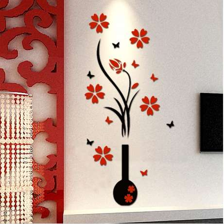 3D Art Flower Decal Vinyl Decor Removable wall sticker Nairobi CBD - image 1