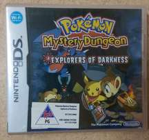 Nintendo DS (NDS) Game - Pokemon Mystery Dungeon - Explorers of Darkne