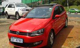 2014 model vw polo 6 1.6 Comfortline with sun/roof for sale