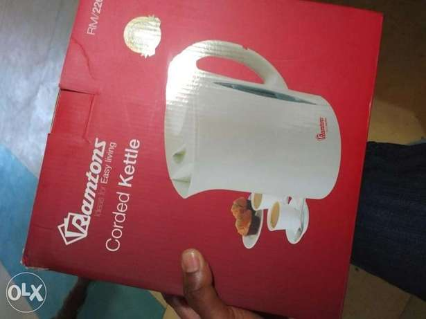 Brand new Ramtons Corded Kettle with one year warranty Thindigwa - image 2