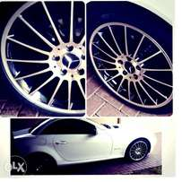 AMG rims with tyres for sale