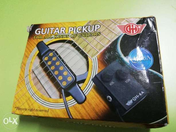 Acoustic Guitar Pickup - Electric Transducer for Acoustic Guitars