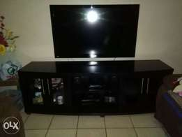 Wall unit with 55inc flat screen tv