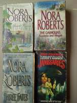 Nora Roberts Romance and Adventure Books