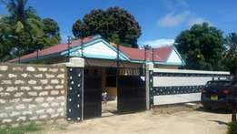 3 bedrooms own compound mtwapa