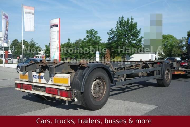 Schmitz Cargobull AFW 18 Drehdeichsel BDF *Lafette/SAF-Achsen - 2010