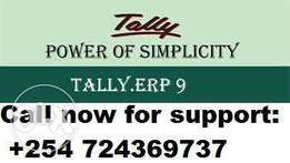 TallyERP9 Accounts software (license) & support