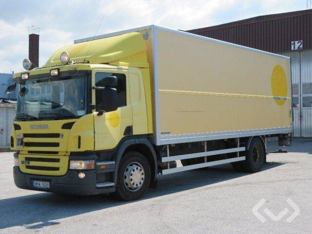 Scania P340LB MNB (Export only) 4x2 Box (tail lift) - 06 - 2019