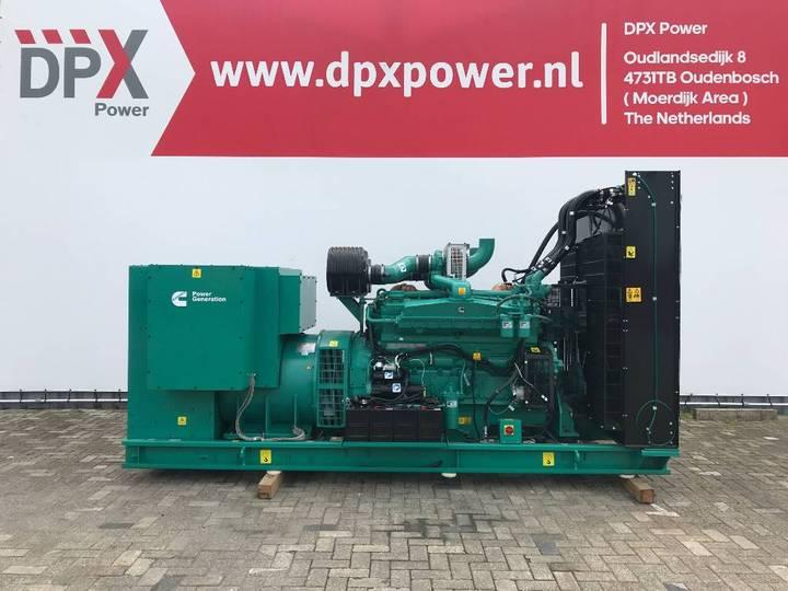 Cummins C825D5A - 825 kVA Generator - DPX-18525-O - 2018