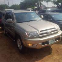 Nigerian Used Toyota 4Runner, 2005, LIMITED. Very OK