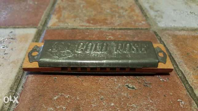 For sale rare vintage harmonica (Good rose)
