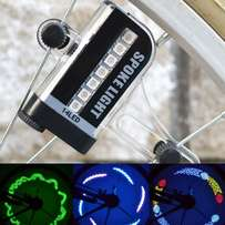 mountain bike spoke light