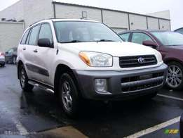 2002 Rav 4 1.8 Manual 3Dr 230 000km