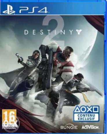 Ps4 cd destiny 2 fully working new not played yet because TV broke
