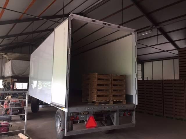 overigen bunk aanhangwagen (langzaam verkeer) closed box - 2009