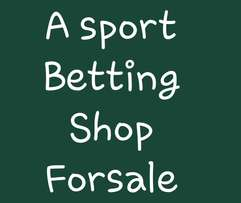 A betting Shop With Complete Equipment For Sale