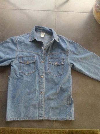 Джинсовая рубашка унисекс  100 грн. - Одяг для хлопчиків Великий ... 1a1bd3c7b4501