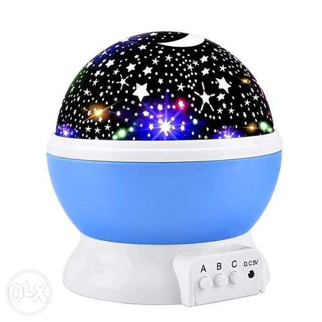 Star Rotating projection lamp