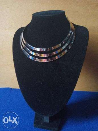 3 layer chunky necklace Lokogoma - image 2