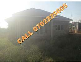 One of a kind 3 bedroom shell house for sale in Sonde-Nabusugwe at 70m