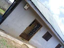 Room and parlor self contain at agbadam road fully tiled fenced