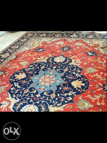Persian carpet Tabriz Heriz fine antique